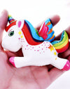 Kawaii Colorful Unicorn Squishies