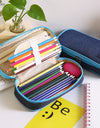 Simple Style Pencil Case