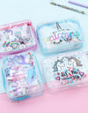 Transparent Unicorn Stationery Pouch