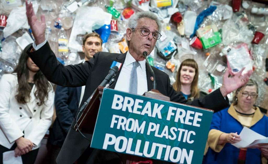 Break Free From Plastic Pollution Act introduced