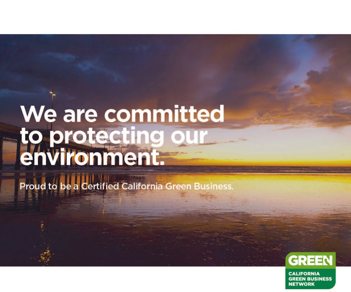 We're a Certified California Green Business