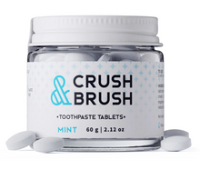 Load image into Gallery viewer, Crush + Brush Toothpaste Tablets