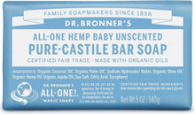 Load image into Gallery viewer, Pure Castile Bar Soap