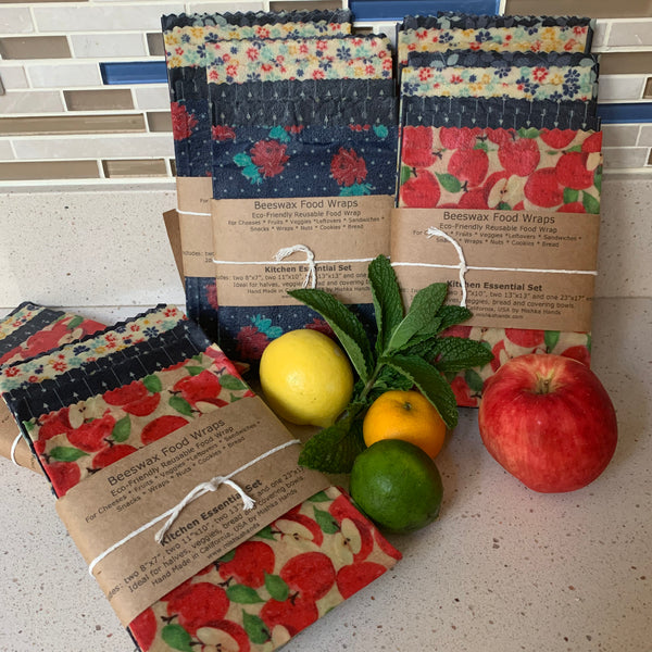 Beeswax Wrap - set of 7