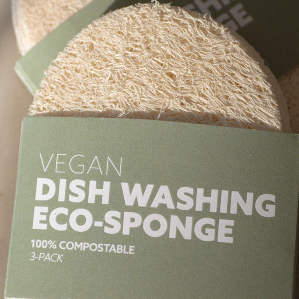 Biodegradable eco-sponges (3-pack)