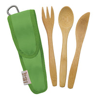 Bamboo Utensils with RePEaT case - Kids