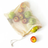 Reusable Produce Bags - Organic Cotton