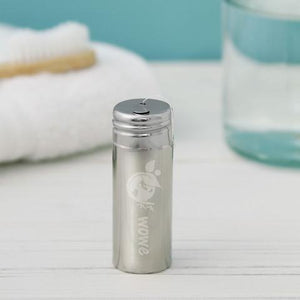 Silk Dental Floss with stainless steel container