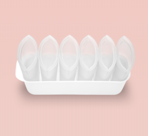 Silicone Food Container - Breastmilk storage