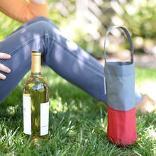 Load image into Gallery viewer, Foldable Wine Bag