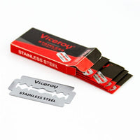 Stainless Steel Double Edge Safety Razor Blades - 5 count