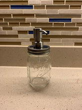 Load image into Gallery viewer, Stainless Steel Soap Pump for Mason Jar