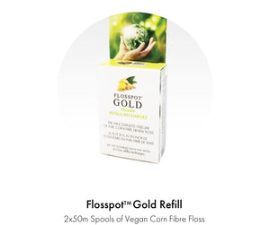FlossPot Gold corn floss refills