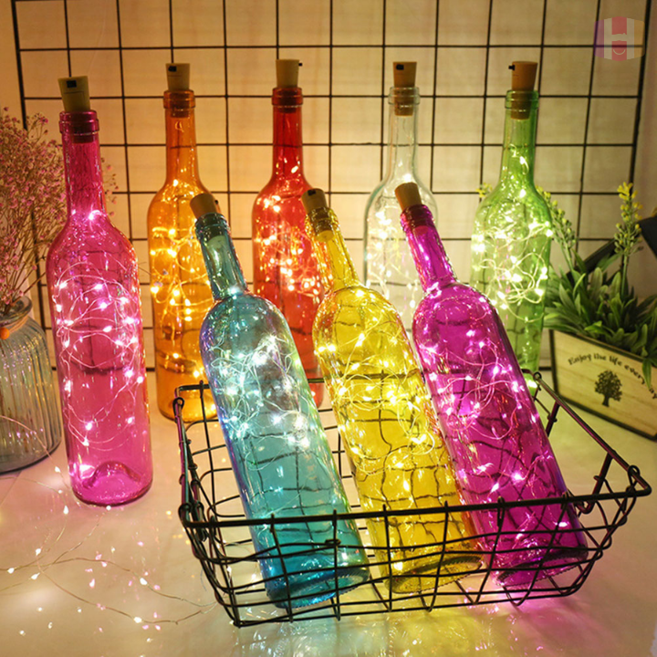 FireFly™ LED Corked Bottle Lights (Batteries Included) - FREE GIVEAWAY: Limited Time Offer!
