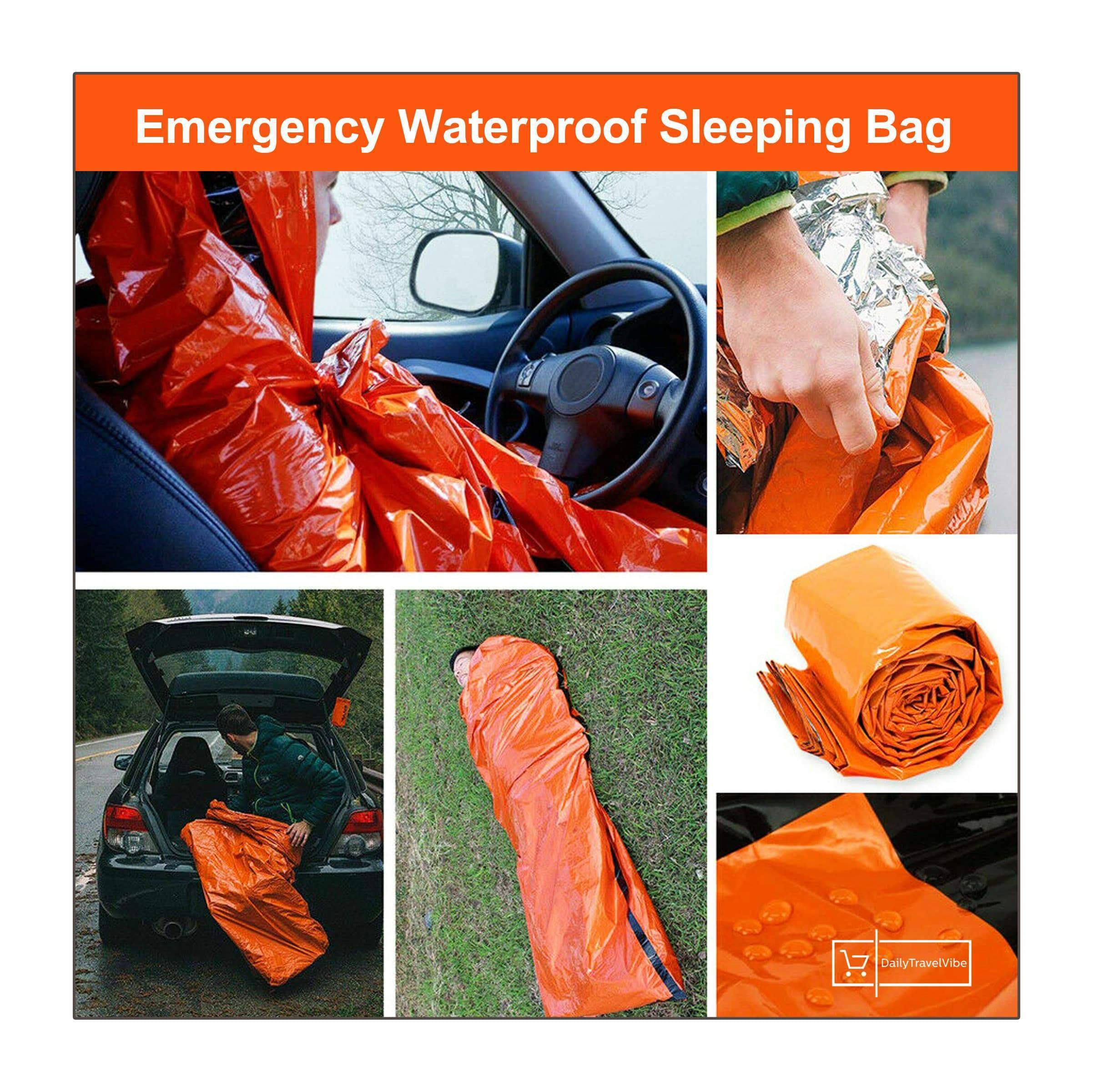 Emergency Waterproof Sleeping Bag-Buy Three Free Shipping