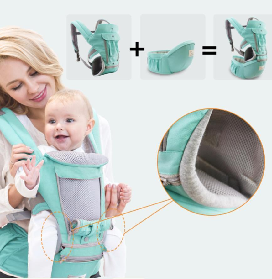 [60% OFF] All-In-One Baby Breathable Travel Carrier-Ergonomic design
