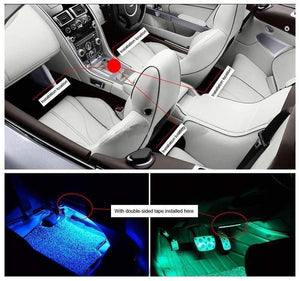 CAR INTERIOR LIGHT UNDER DASH