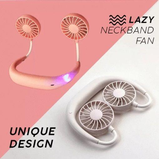 2019 New Portable Hanging Neck Fan