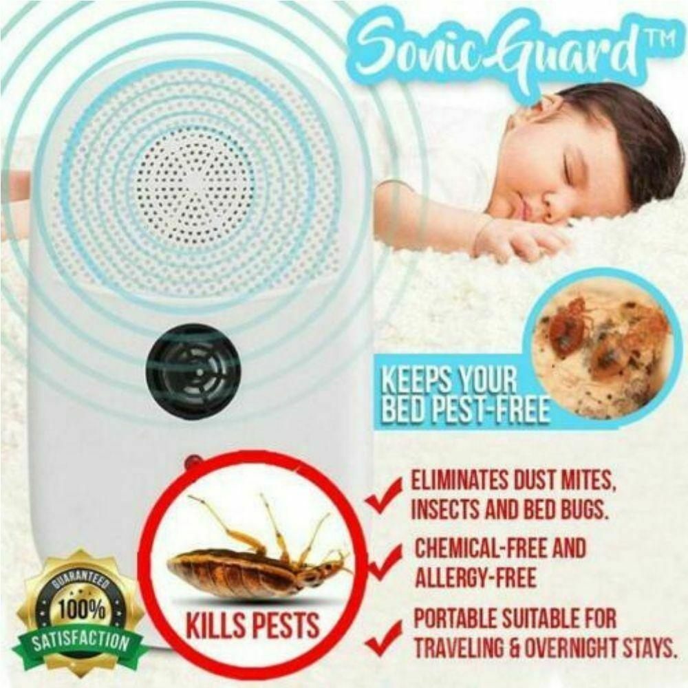 SonicGuard™ Bugs, Dust Mite + Bed Bug Killer