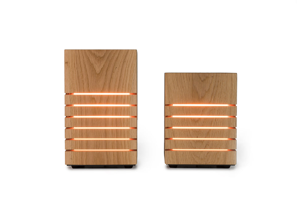 Groyer - L420 solid wood ambient LED lamp set