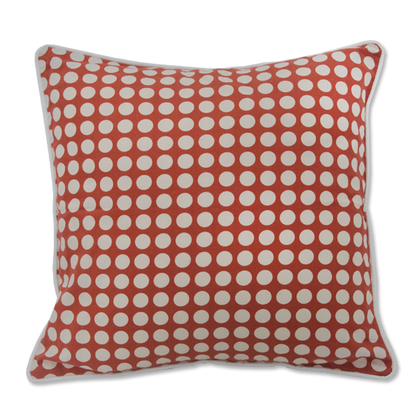 Coral Dots Small Cushion Cover