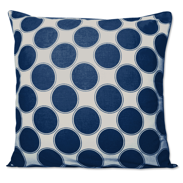 Indigo Ibiza Large Cushion Cover