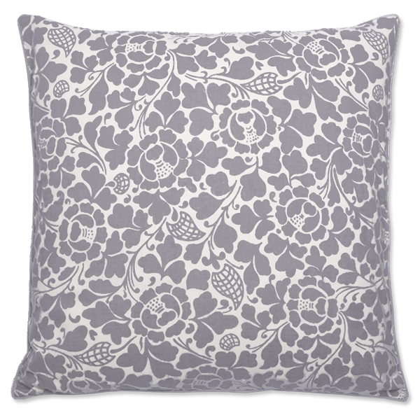 Lavender Grey Bali Large Cushion Cover