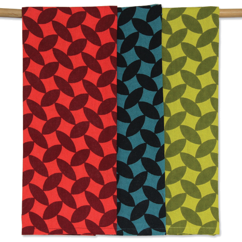 Set of 3 - Cool Beans Tea Towels