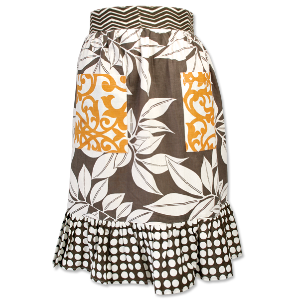 Brown Girly Apron