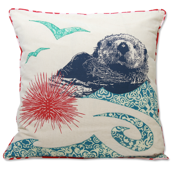 Otter Cushion Cover East