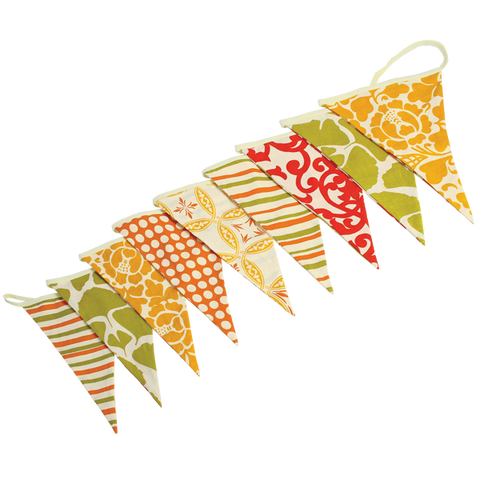 Bunting Flag Banners Citrus