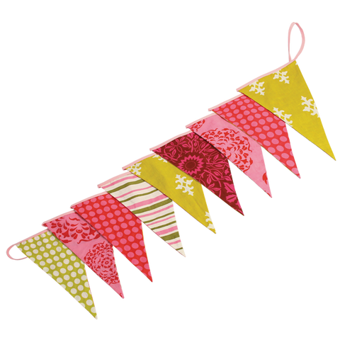 Bunting Flag Banners Retro