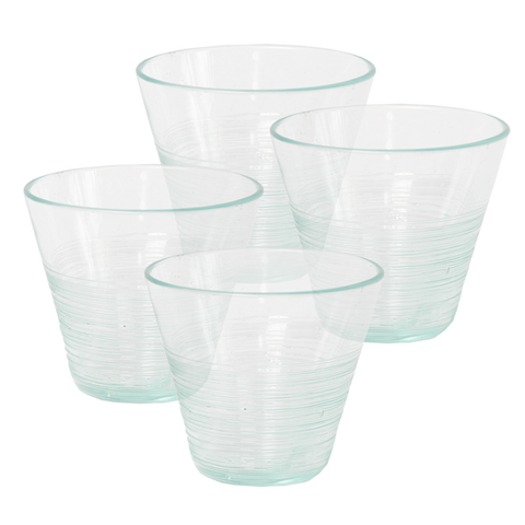 Set of 4 - Scrappy Short Tumblers