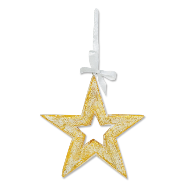 Set of 4 Star Ornaments