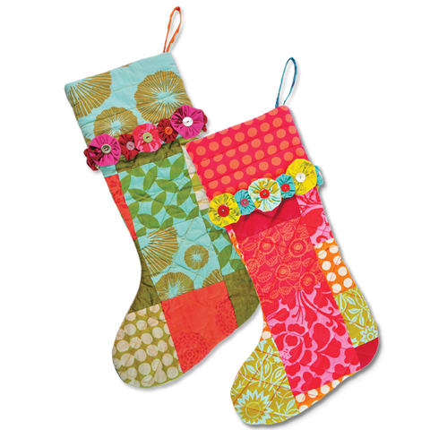 Scrappy Holiday Stocking