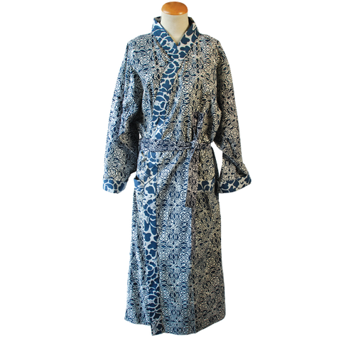 Mood Indigo Kimono Robe in 2 sizes