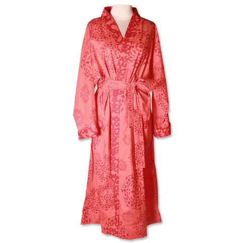 Red Mandala Kimono Robe in 2 sizes