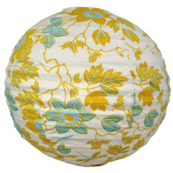 Passion Flower Round Lamp Shade