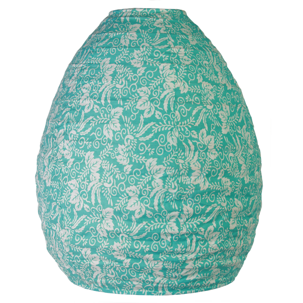 Kyoto Turquoise Beehive Lamp Shade