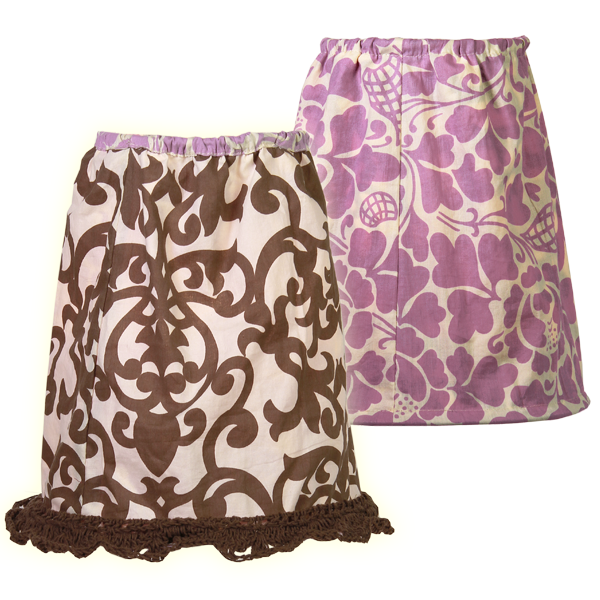 Small Lavender Reversible Shade