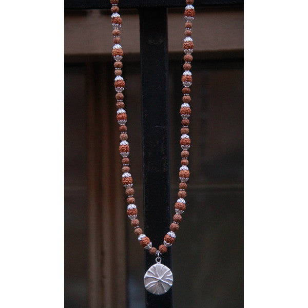 Seastar Rudraksha Necklace