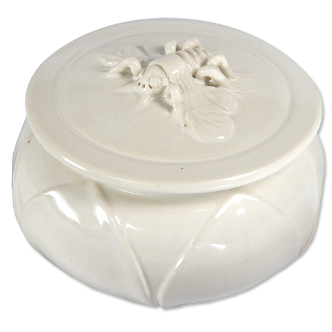 White Bee Sugar Bowl