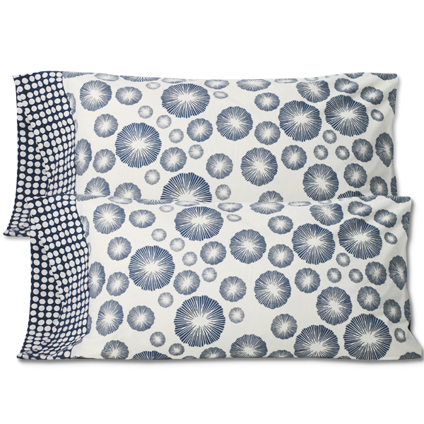 Mood Indigo King Pillow Case - set/2