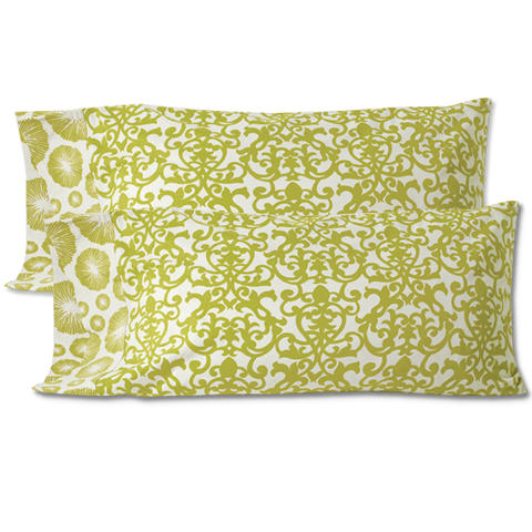 Spring Meadow King Pillow Case - set/2