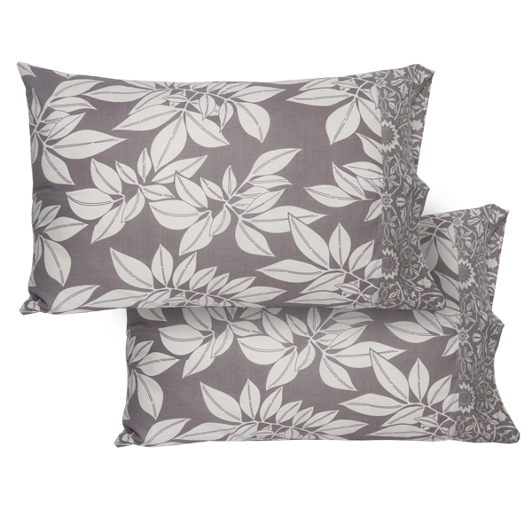 Lavender Grey Standard Pillow Cases set of 2