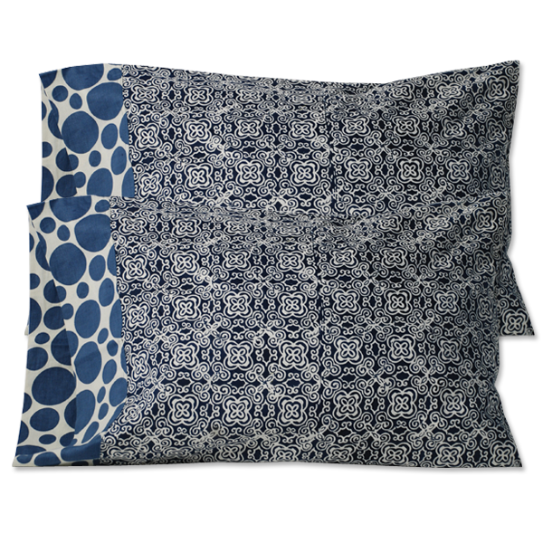 Mood Indigo Standard Pillow Case - set/2
