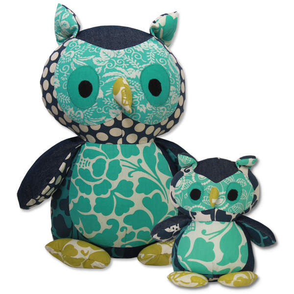 Cool Scrappy Owl in 2 sizes