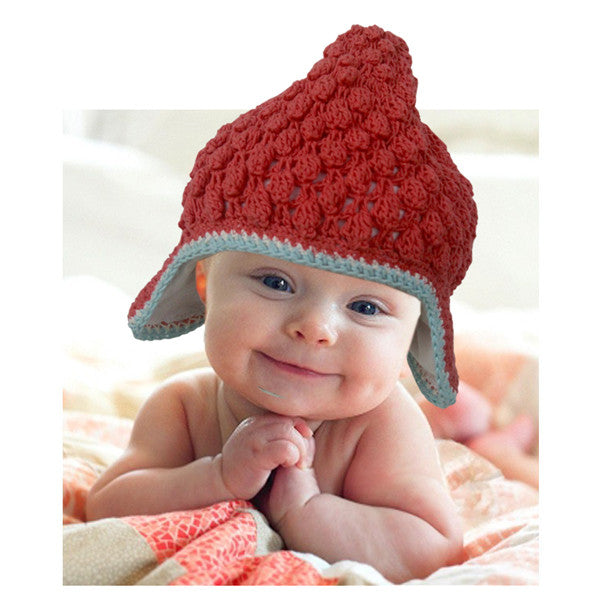 Buddha Beanie Coral - comes lined or not - baby & child