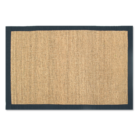 Sand & Sea Vetiver Bathmat (Denim Trimmed)