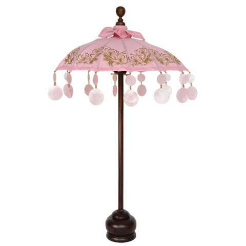 Pink Chrysanthemum Umbrella